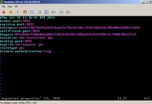 Analytics Server Console